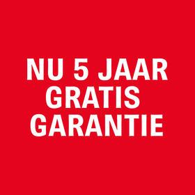 Fiets nog langer zonder zorgen met 5 jaar garantie.