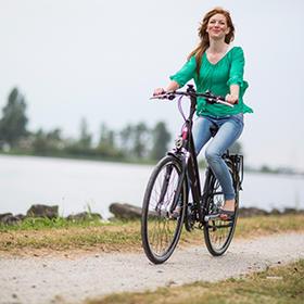 Is fietsen op een elektrische fiets of e-bike gezond?