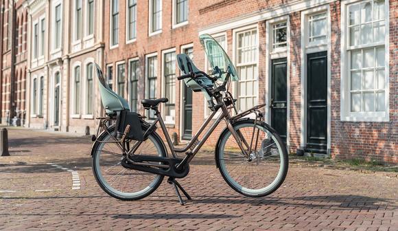 Batavus Quip: stoer, stabiel, veilig en een enorm praktische transportfiets én moederfiets!
