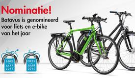 Nominatie Fiets en E-bike van het Jaar 2015