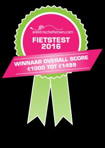 ElektrischeFietsen.com Fietstest 2016
