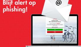 Blijf alert op phishing mails