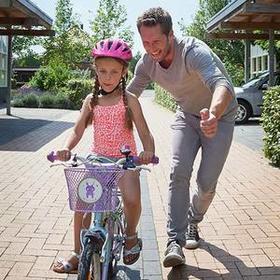 Samen veilig leren fietsen
