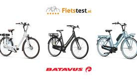 Test verschillende modellen van Batavus tijdens de AD Fietstest