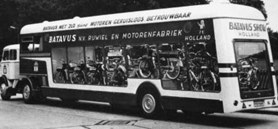 1964: Batavus showtruck
