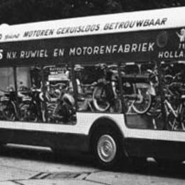 1964: Batavus showtruck