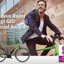 Batavus Razer bekroond met GIO Special Award