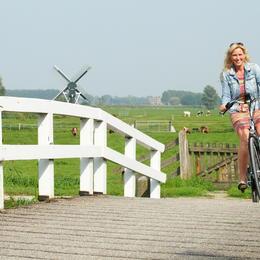 Slinger langs de Amstel