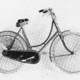 1917: Batavus dames rijwiel