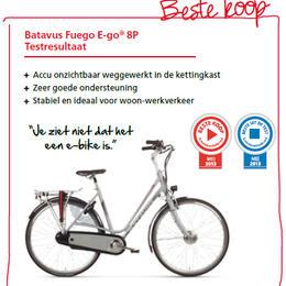 Fuego E-go® uitgeroepen tot Beste Koop
