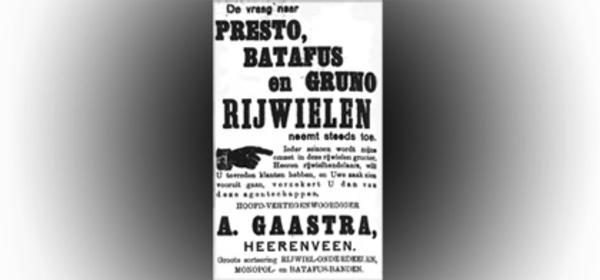 1923: Batafus en Batavus