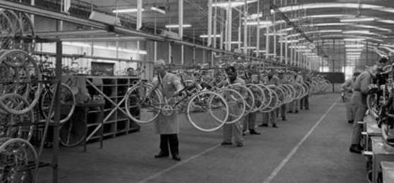 1971: Fietsen, fietsen en nog eens fietsen