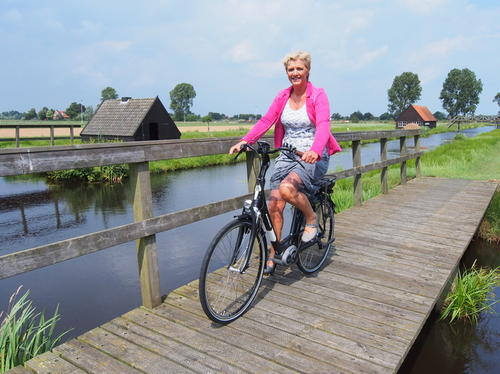 Test een Batavus e-bike via Friesland Holland Travel