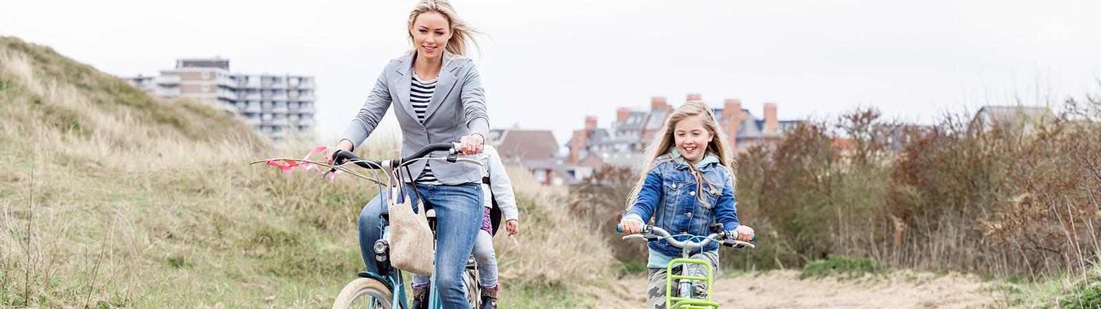 Samen uit. Samen thuis. Altijd veilig en met plezier fietsen.