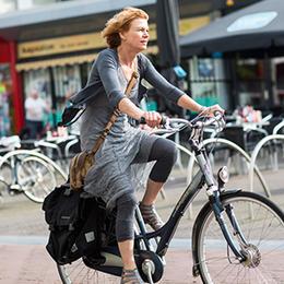 Haal boodschappen op de (elektrische) fiets