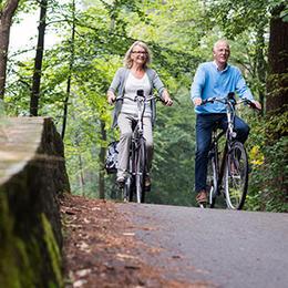 Dezelfde voordelen als op de fiets