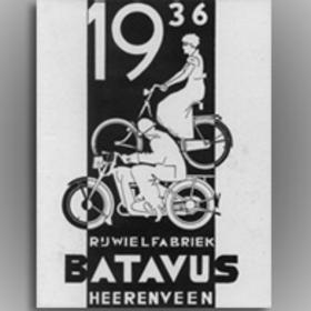 1936: Bromfietsen voor dames en heren