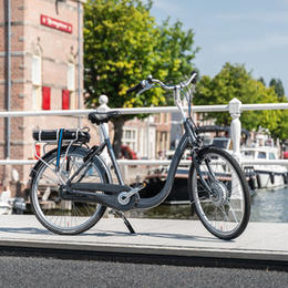Blijf genieten van de fietsvrijheid.