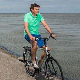 Met een elektrische fiets kom je verder