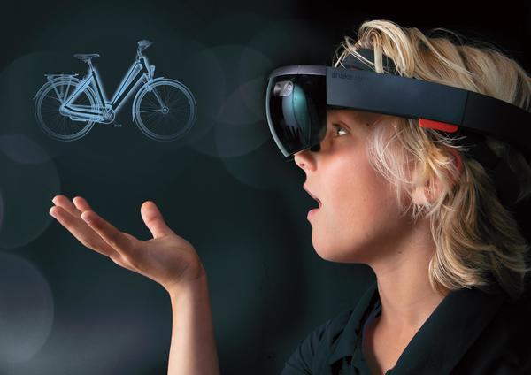 Batavus Bryte via de HoloLens