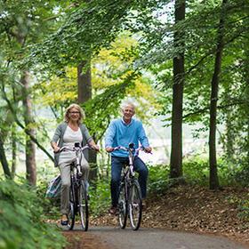 Waarom fietsen gezond is voor ouderen