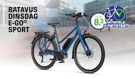 Elektrische Batavus-fietsen bekroond met hoge cijfers in Nationale E-biketest